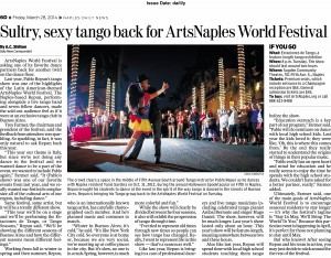 Naples Daily News - Neopolitan - ArtsNaples Tango preview 3-28-14