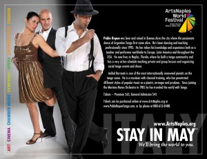 Show at the Sugden Theater on 5th Avenue! Estaciones de Tango