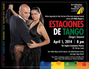Tango Show at the Sugden Theater on 5th Avenue! Estaciones de Tango