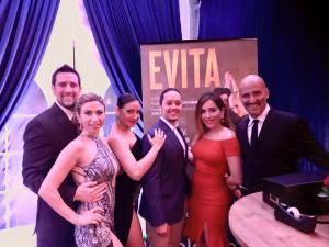 Evita show Pablo